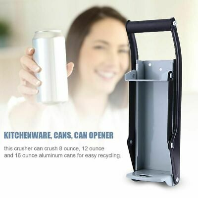 Beer Bottle Can Crusher Opener Wall Mount Recycling Kitchen Tool Kitchenware