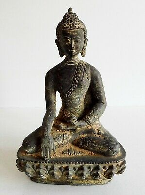 Wonderful Old Chinese Bronze Buddha Statue - Rare Early Example - Superb Piece