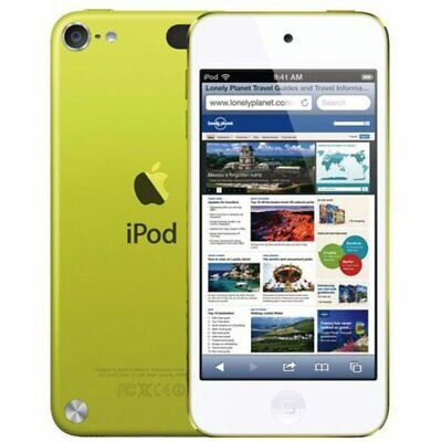 Apple iPod Touch 5th Generation A1421 16GB MP3 Digital Music Player Yellow