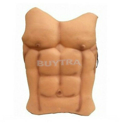 Halloween faux muscle Chest Déguisements Costume accessoire héros AS