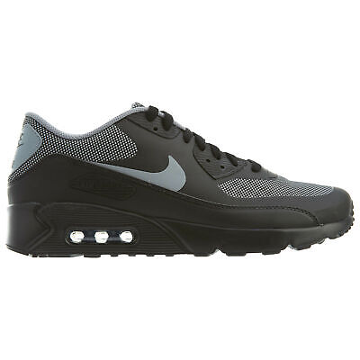 ec1dee92bd765 MENS NIKE AIR MAX 90 ULTRA 2.0 ESSENTIAL TRIPLE BLACK SHOES 875695 ...