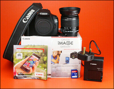 Canon EOS 1200D DSLR Camera, With 18-55mm Zoom Lens kit + Battery, Charger & Box