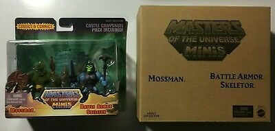 He-man Masters Of The Universe- Mossman & Battle Armor Skeletor Mini 2 Pack 2014