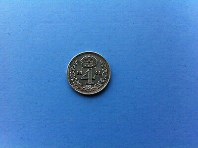 King George VI Maundy Four Pence 1941