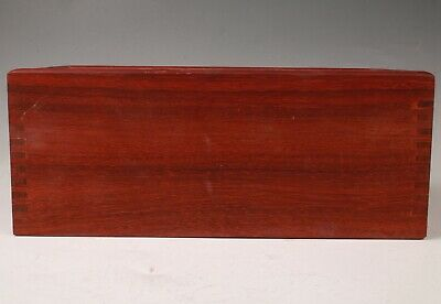 Unique Chinese Wood Handmade Large Box Old Collection Exclusive Customization