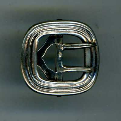 Very Small Silver Buckle - Fully Hallmarked Ajh, London, 1906