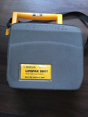 Medtronic Lifepak 500T AED Training System no battery good condition medical