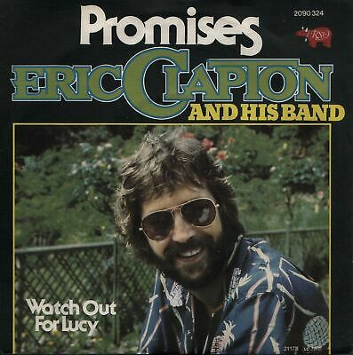 "ERIC CLAPTON & HIS BAND: Promises (´78 / orig. German 7"")"