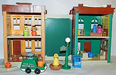 vintage °Fisher Price° Let´s Play Family ° Sesame Street° Little People