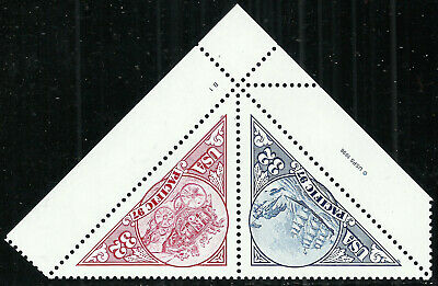 Scott 3130-31, Pacific '97 Issue - Mint Never Hinged Se-Tenant Plate No. Pair