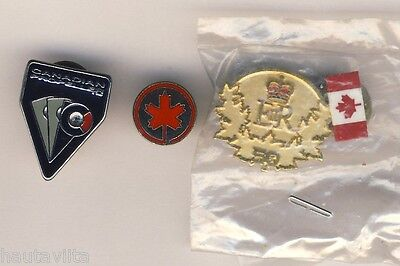 Canadian Propellers Aeronautic Pin + Canadian Airlines Pin Postcards Boeing 6x