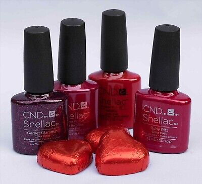 CND Shellac Power Polish 14+day nail colour assorted colours, 7.3 mls