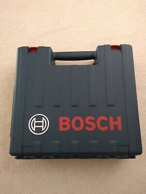 New EMPTY Box Case for BOSCH Professional GSB 18V Drill, batteries and charger.