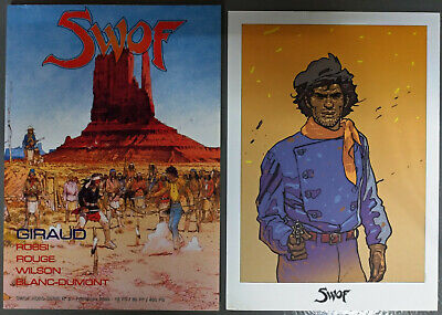 SWOF HS N° 2 - SPECIAL BLUEBERRY : GIRAUD, ROSSI, ROUGE, WILSON + 1 ex-libris