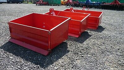 Tractor tipping box, 3 point linkage, Heavy Duty