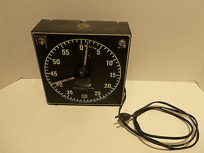Vintage GraLab Universal 60 Minute Darkroom Timer External Switch Outlet Mod 168