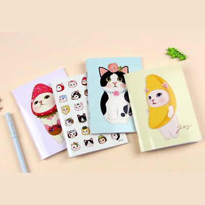 Jetoy Choo Choo Cat Mini Line Notebook Journal Scrapbook Business Office Study