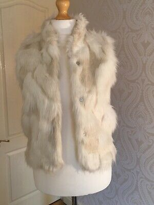 Next Girls Fur Gillet Age 11-12