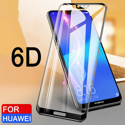 6D For Huawei Nova 3i P20 Lite Pro Full Cover Tempered Glass Screen Protector Y1