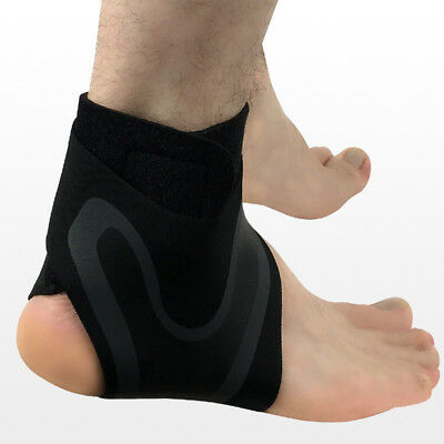 1x Elastic Knee Ankle Foot Support Brace Joint Pain Injury Sprain Knee Protector