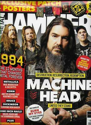 METAL HAMMER Magazine - No.323 (NEW)*Post included to UK/Europe/USA/Canada