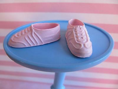 Light Pink Mattel Barbie fit Teen Skipper Doll Faux Lace Tennis Shoes Sneakers