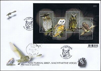 Mnh Block 143 ** Burkina Faso 1995 Mi-nr Vögel / Birds