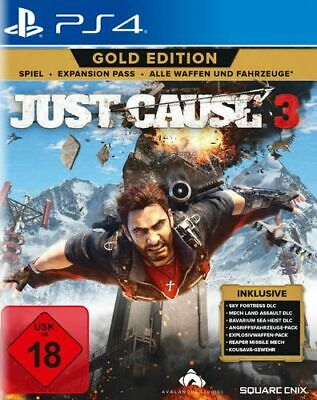 Just Cause 3 (Gold Edition)  - PS4 (USK18)