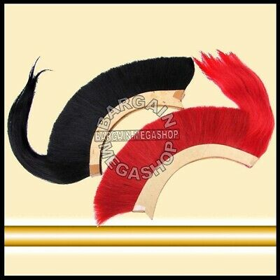 GOMKA Helmet Hair Plume Brush 2 Pcs for Ancient Roman Greek Corinthian Helmet
