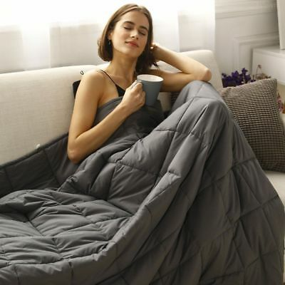 15-25lbs Weighted Sensory Cure Blanket Insomnia Anxiety  Full/Queen Size USA-