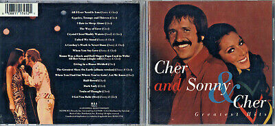 Sonny & Cher - Greatest Hits [1974] (CD, Mar-1998, MCA) Free Ship #0519OF