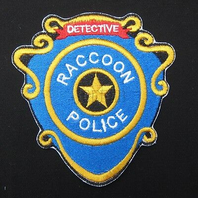 Resident Evil Umbrella STARS Reccoon Police Embroidery Patch B3404
