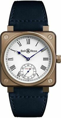New Bell & Ross Aviation Instruments Bronze & Wood Watch BR01-CM-203-B-V-064