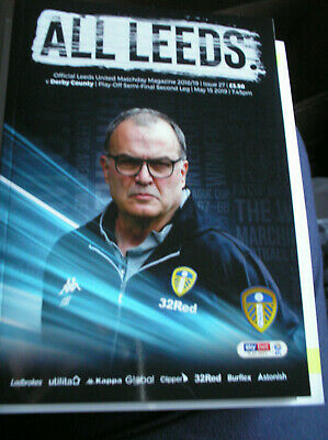Leeds United V Derby County 2018/19 Play-Offs