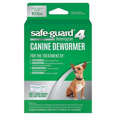 8in1 Safe-Guard Canine Dewormer for Dogs, 3-Day Treatment Small