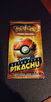 Detective Pikachu Movie Theater PROMO Card Pack (2 cards)  Free Shipping