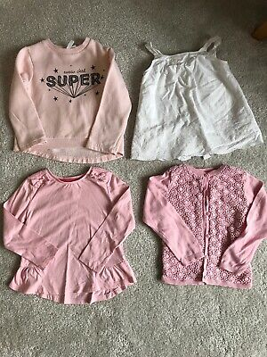 Girls Clothes Bundle M&S Autograph, Tu, Lft, F&F Age 2-3