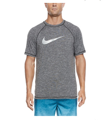 New Men's Nike Swim Hydroguard UV Core Athletic Gym Muscle Tee Top Shirt