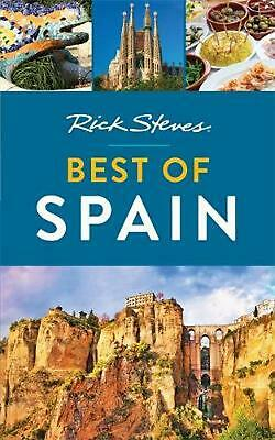 Rick Steves Best of Spain by Rick Steves (English) Paperback Book Free Shipping!