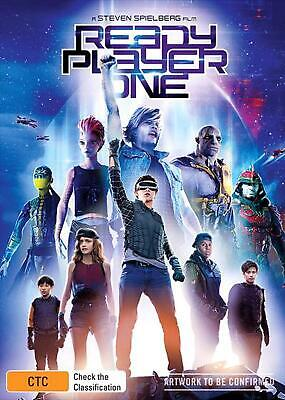 Ready Player One - DVD Region 4 Free Shipping!
