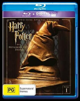 Harry Potter And The Philosopher's Stone : Limited Edition | UV : Year 1 - Blu R