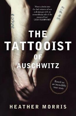 The Tattooist of Auschwitz by Heather Morris Paperback Book Free Shipping!