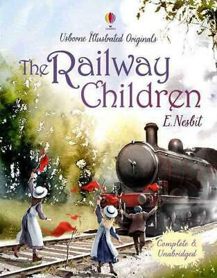 The Railway Children by E. Nesbit Hardcover Book Free Shipping!