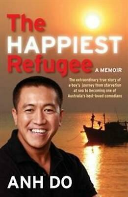 The Happiest Refugee: A Memoir by Anh Do Paperback Book Free Shipping!