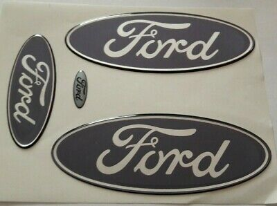 Ford Fiesta ST MK7 & MK8 Focus RS MK3 farbige Embleme Overlays / Inlays / Badge