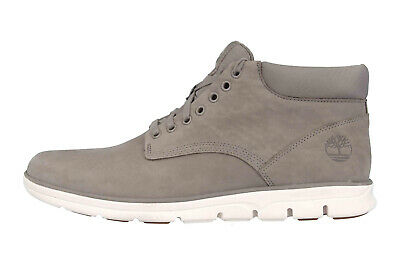 TIMBERLAND BRADSTREET CHUKKA Leather STEEPLE GREY Boots in