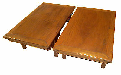 PAIR Antique K'ANG Tables HARDWOOD Chinese RARE