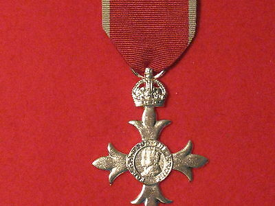 FULL SIZE OBE Military Medal Museum Standard Copy Medal With