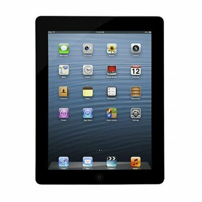 "Apple iPad 3rd Gen A1430 64GB 9.7"" iOS WiFi/3G Tablet Black/Silver Unlocked"