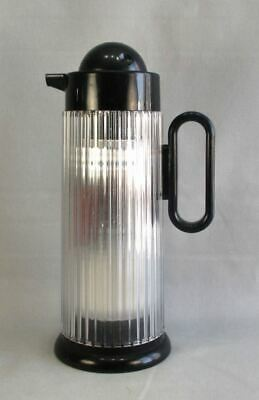 Art Deco Insulated Beverage Pitcher Made in Japan 1 Quart